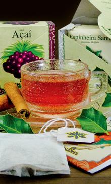Comprar chás e plantas medicinais em sachês